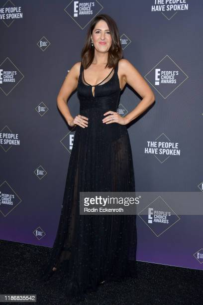 Arcy Carden poses in the press room during the 2019 E People's Choice Awards at Barker Hangar on November 10 2019 in Santa Monica California
