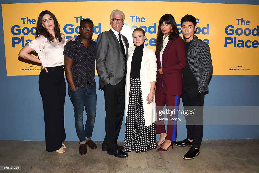 Universal Television's FYC @ UCB - 'The Good Place' - Arrivals : News Photo