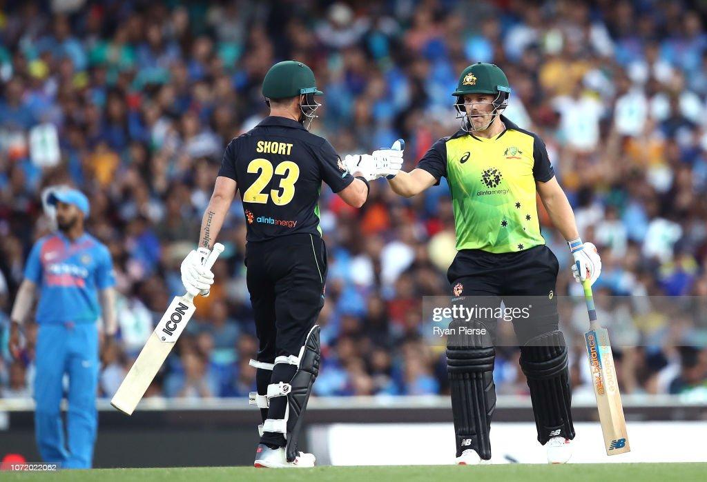 Australia v India - T20 : News Photo