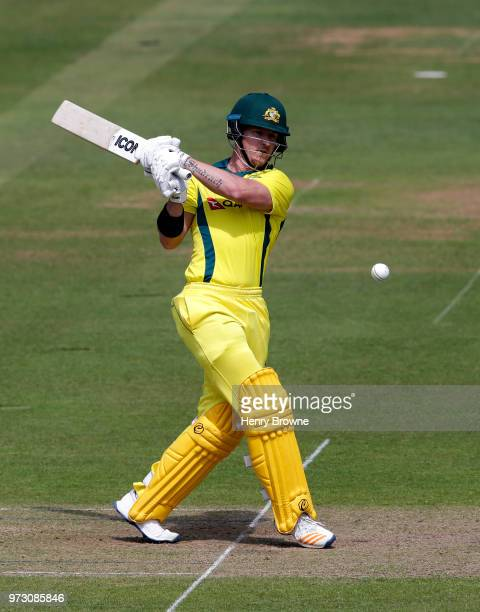 Arcy Short of Australia during the One Day Tour match between Middlesex and Australia at Lord's Cricket Ground on June 9 2018 in London England