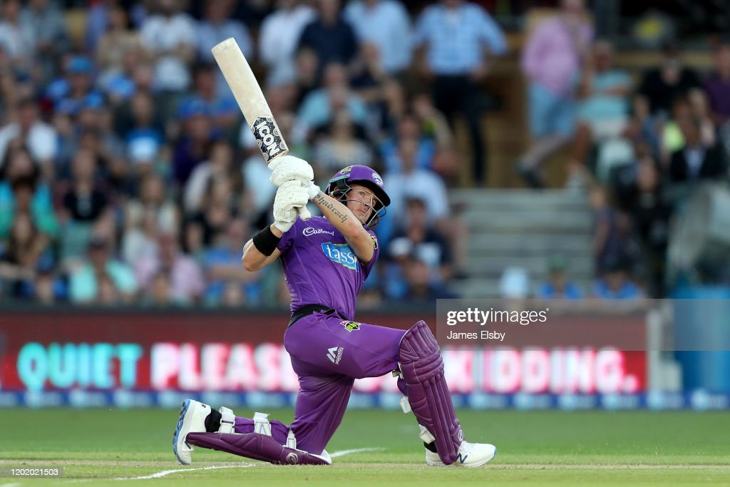 BBL - Adelaide Strikers v Hobart Hurricanes : News Photo