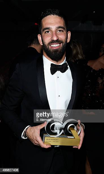 Arda Turan attends the after party for the GQ Men of the Year Awards on December 3 2015 in Istanbul Turkey