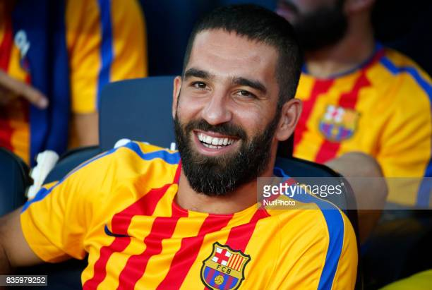 Arda Turan during La Liga match between FC Barcelona v Real Betis Balompie in Barcelona on August 20 2017 hoto Joan Valls/Urbanandsport/Nurphoto