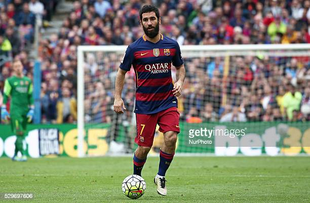 Arda Turan during the match between FC Barcelona and RCDE corresponding to the week 37 of the spanish league played at the Camp Nou on may 08 2016