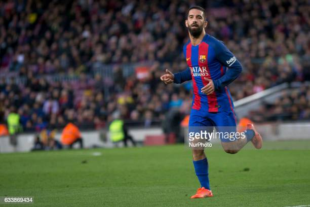 Arda Turan during the spanish league match between FC Barcelona and Athletic Club de Bilbao in Barcelona on February 4 2017