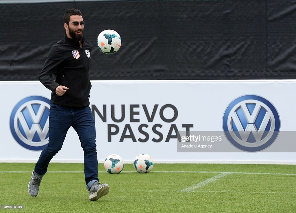 Club Atletico Madrid and Volkswagen renew their agreement : News Photo