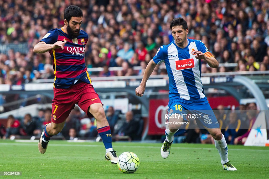 FC Barcelona v Real CD Espanyol - La Liga : ニュース写真