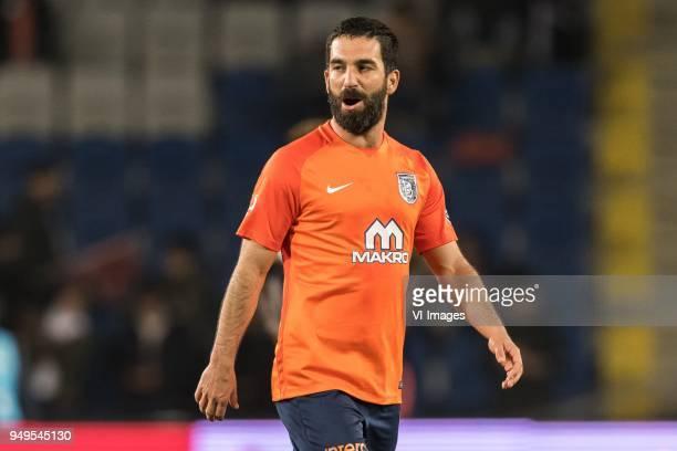 Arda Turan of Istanbul Medipol Basaksehir FK during the Turkish Spor Toto Super Lig football match between Medipol Basaksehir FK and Kayserispor on...