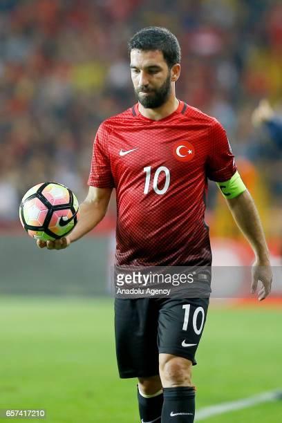 Arda Turan of Turkey is seen during the 2018 FIFA World Cup Qualification match between Turkey and Finland at New Antalya Stadium in Antalya Turkey...