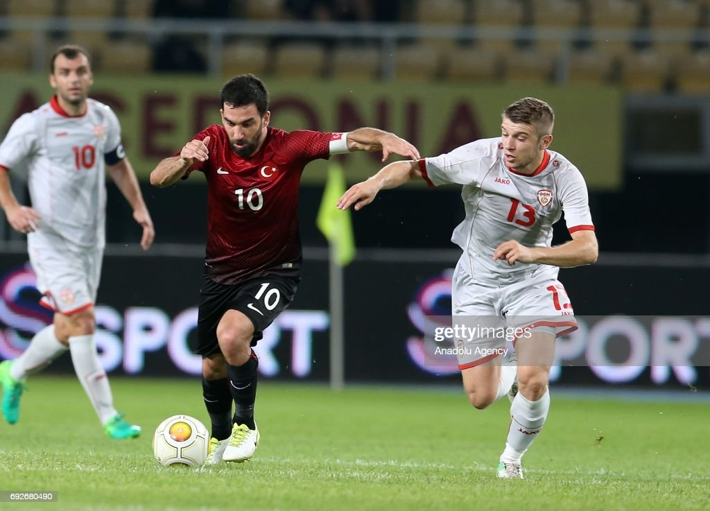 Macedonia v Turkey - Friendly Match : Fotografía de noticias
