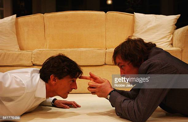 Ardal O'Hanlon and Nigel Havers in the production See You Next Tuesday at the Albery Theatre London Copyright Robbie Jack 9/26/03