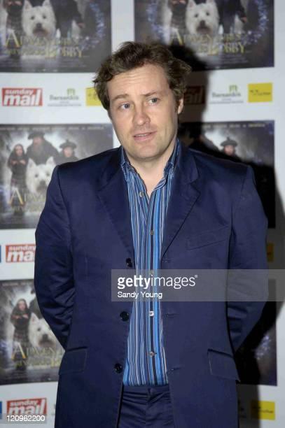 Ardal O'Hanlon during Greyfriars Bobby UK Gala Premiere at Vue Omni Centre in Edinburgh Great Britain