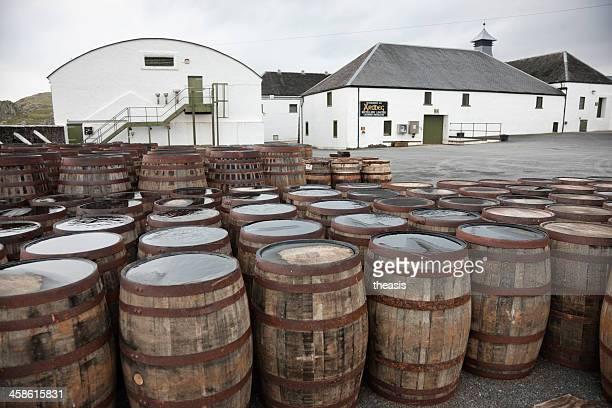 ardbeg distillery - theasis foto e immagini stock