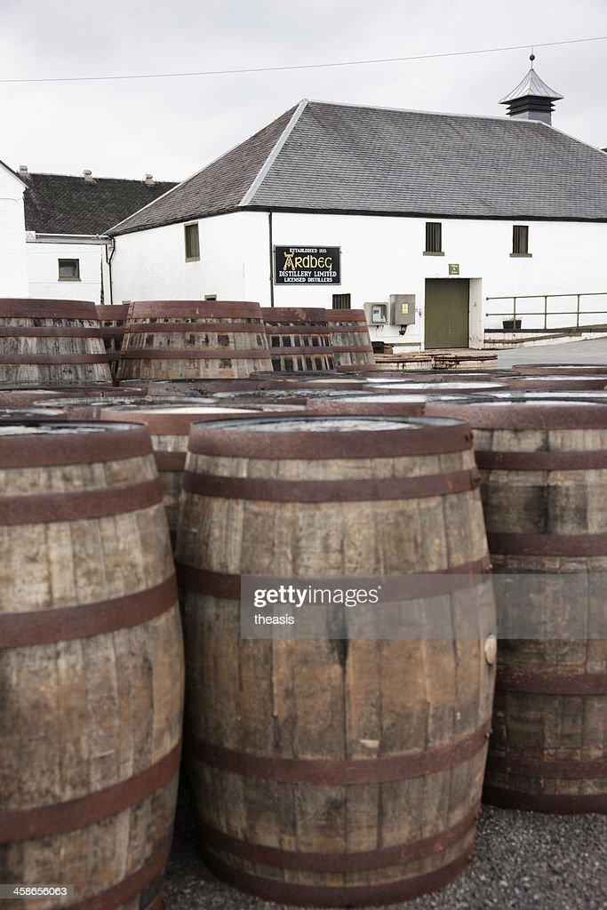 Ardbeg Distillery : Stock Photo