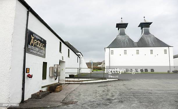 ardbeg distillery - theasis stock pictures, royalty-free photos & images