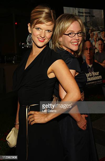 """Arden Myrin and Rachael Harris during """"Curb Your Enthusiasm"""" Season 5 Los Angeles Premiere - Red Carpet at Paramount Studios in Hollywood,..."""