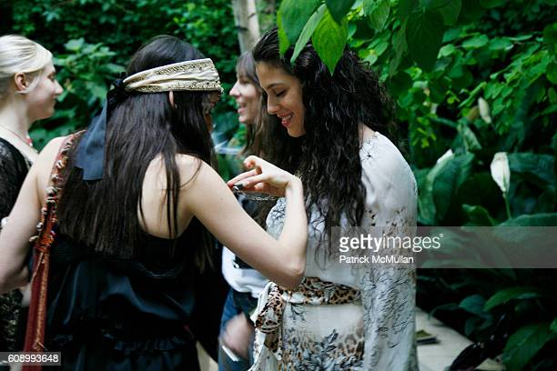 Arden Wohl and Abbey Drucker attend ELISE OVERLAND Shopping Party at Allison Sarofim's Residence on May 23 2007 in New York City