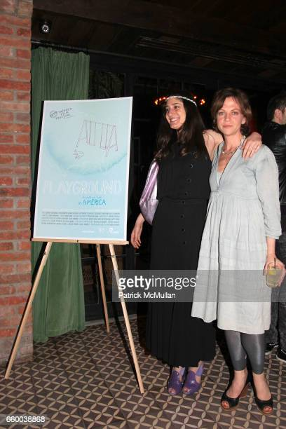 Arden Wohl and Libby Spears attend House of Lavande Hosts the Nest Foundation Gala at Bowery Hotel on May 1 2009 in New York City