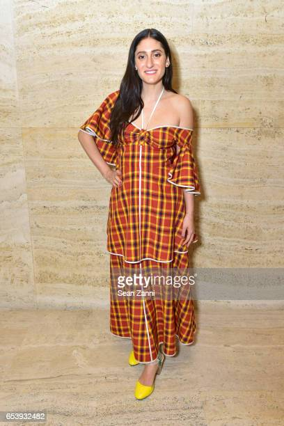 Arden Wohl attends Art Production Fund's Bright Lights Big City Gala at Seagram Building on March 13 2017 in New York City