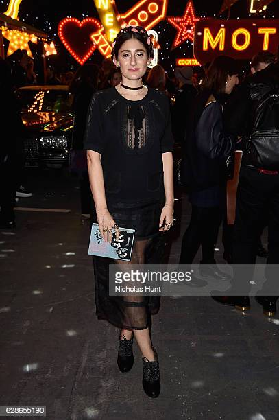 Arden Wohl attends the Coach 75th Anniversary Women's PreFall and Men's Fall Show Front Row on December 8 2016 in New York City