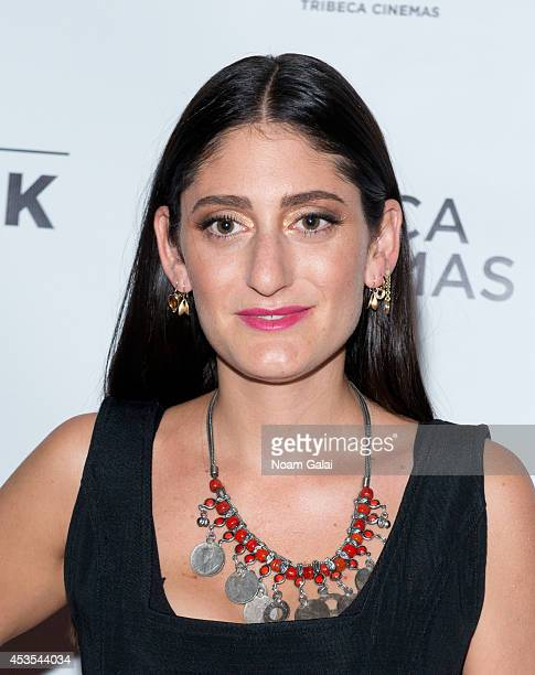 Arden Wohl attends the 'Stephanie In The Water' New York Premiere at Tribeca Cinemas on August 12 2014 in New York City