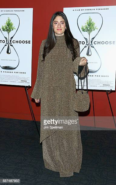 Arden Wohl attends the 'Time To Choose' New York screening at Landmark's Sunshine Cinema on June 1 2016 in New York City
