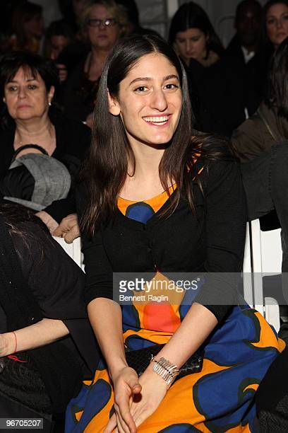Arden Wohl attends Tony Cohen Fall 2010 during MercedesBenz Fashion Week at Bryant Park on February 14 2010 in New York City