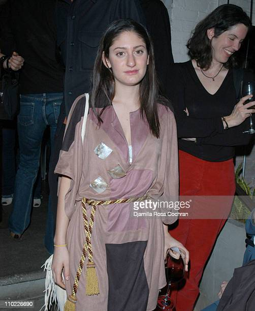 Arden Wohl during Eric Villency Hosts the Stephen Petronio Benefit at Public in New York City New York United States