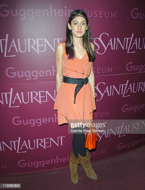 Arden Wohl during Yves Saint Laurent Sponsors the Third Annual Guggenheim Artists Ball at Guggenheim in New York City New York United States
