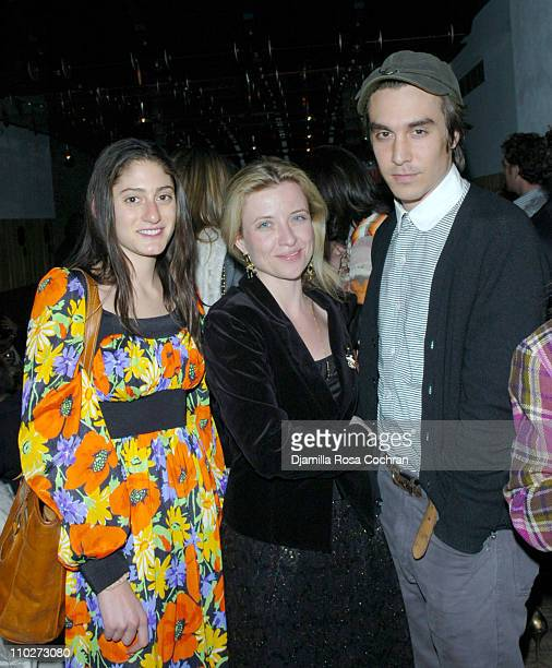 Arden Wohl Vanina Holasek and M Blash during Stephen Petronio Benefit Event Opening Night of 'BLOOM' at the Joyce Theatre in New York City After...
