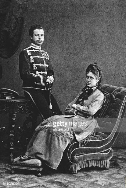 Ardenne Armand von *18481919Offizier Militaerschriftsteller D mit seiner Frau Elisabeth als Brautleute 1873Elisabeth von Ardenne ist Vorlage für...