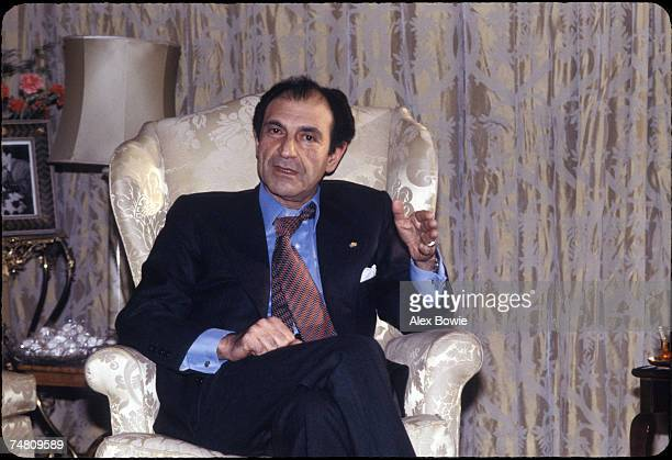 Ardeshir Zahedi the Iranian ambassador to the United States at home in Tehran 18th December 1978