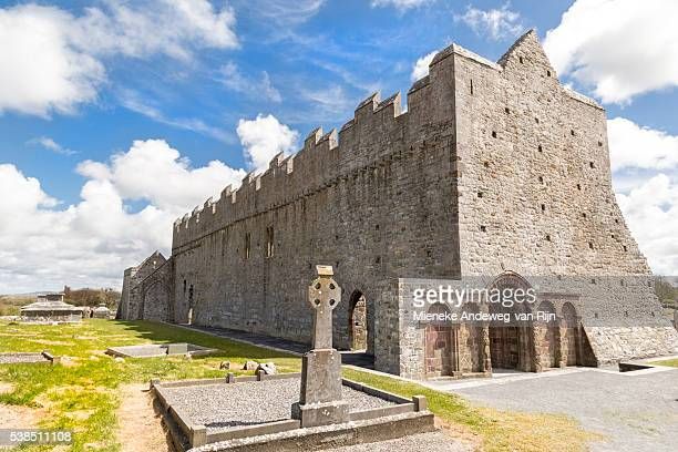 Ardfert Cathedral, a ruined cathedral, near Tralee, County Kerry, Munster Province, Republic of Ireland