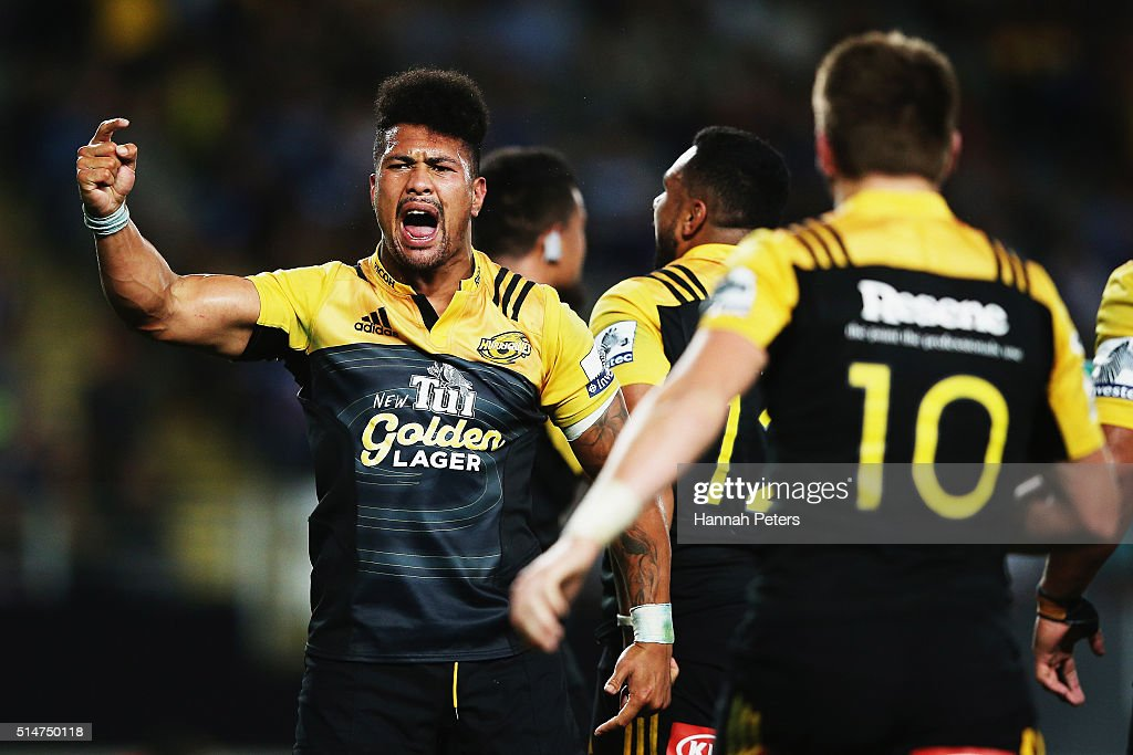 Super Rugby Rd 3 - Blues v Hurricanes : News Photo