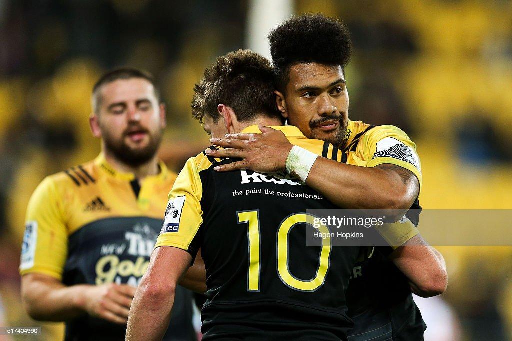 Super Rugby Rd 5 - Hurricanes v Kings : Fotografía de noticias