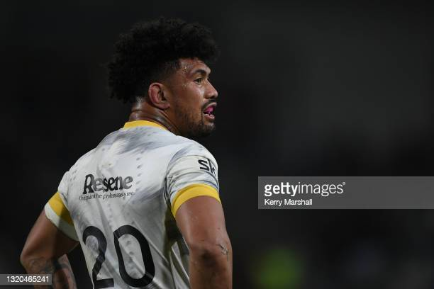 Ardie Savea of the Hurricanes during the round three Super Rugby Trans-Tasman match between the Hurricanes and the Western Force at McLean Park on...