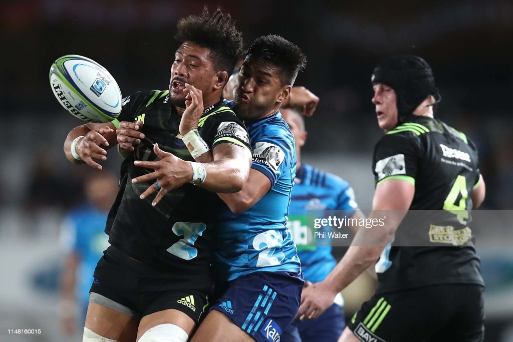 Super Rugby Rd 13 - Blues v Hurricanes : News Photo