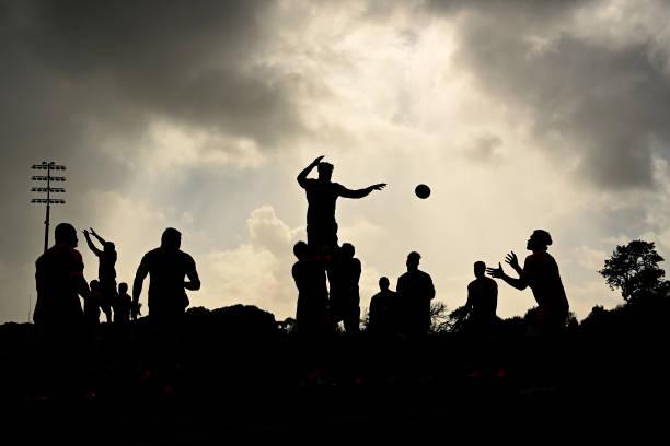 NZL: New Zealand All Blacks Training Session