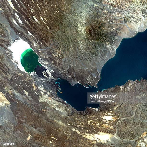 Ardoukoba Djibouti true colour satellite image Ardoukoba is a volcano located close to Assal Lake in Djibouti Image taken on 13 May 2000 using...