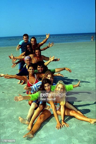 "Surfer-Serie ""Gegen den Wind"": Katrin Weisser, Katja Woywood, Christian Näthe, Ivana Kensy, Antonio, Putignano, Heinrich Schmieder, Hardy Krüger jr.,..."