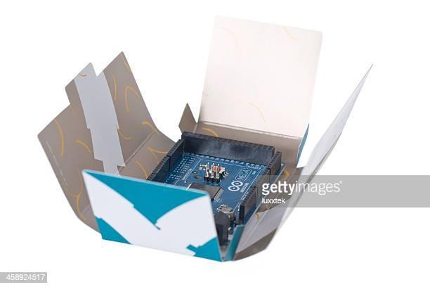 Arduino MEGA controller in an open box