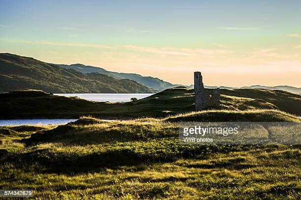 Ardvreck Castle at Sunset, Loch Assynt