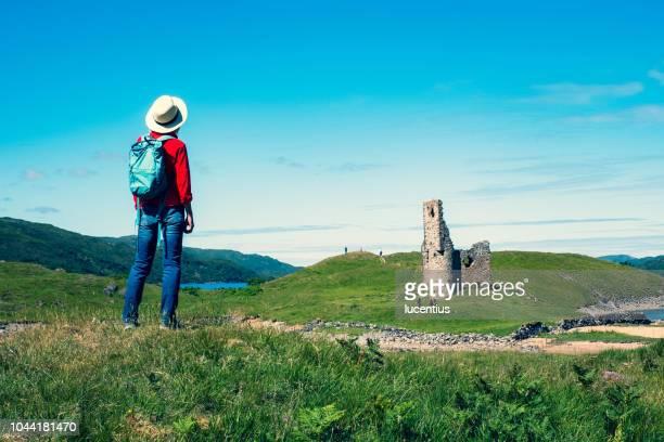 Ardvreck Castle ruins, Sutherland, Scotland