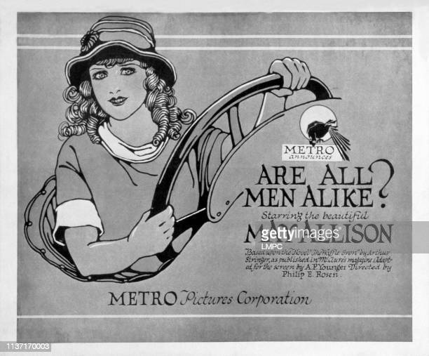 Are All Men Alike poster May Allison 1920