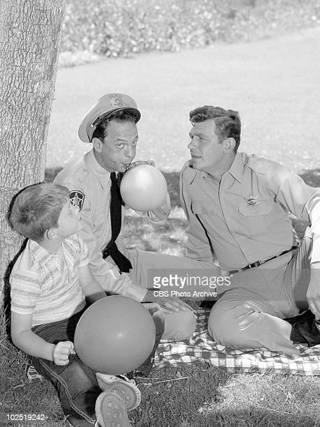 'THE ANDY GRIFFITH SHOW' are Ronny Howard Don Knotts Andy Griffith Ron HowardDon KnottsAndy Griffith