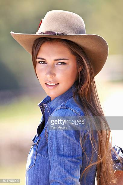 are ya'all ready for me???! - cowboy hat stock photos and pictures