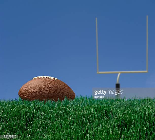 準備はいかがですか? - アメリカンフットボールのフィールドゴール ストックフォトと画像