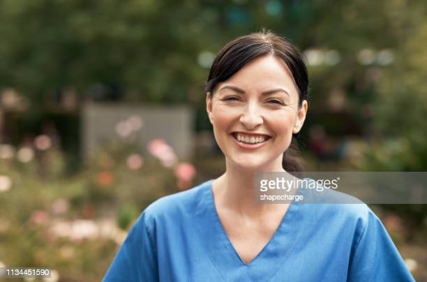 are you ready to be cared for? - female nurse stock pictures, royalty-free photos & images