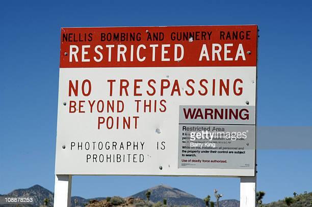 Area 51 File Photo near Rachel Nevada