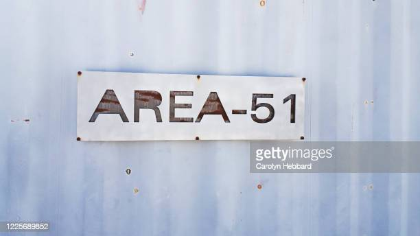 area 51 sign - area 51 stock pictures, royalty-free photos & images
